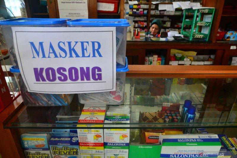Ratusan dus masker di rumah sakit hilang dicuri