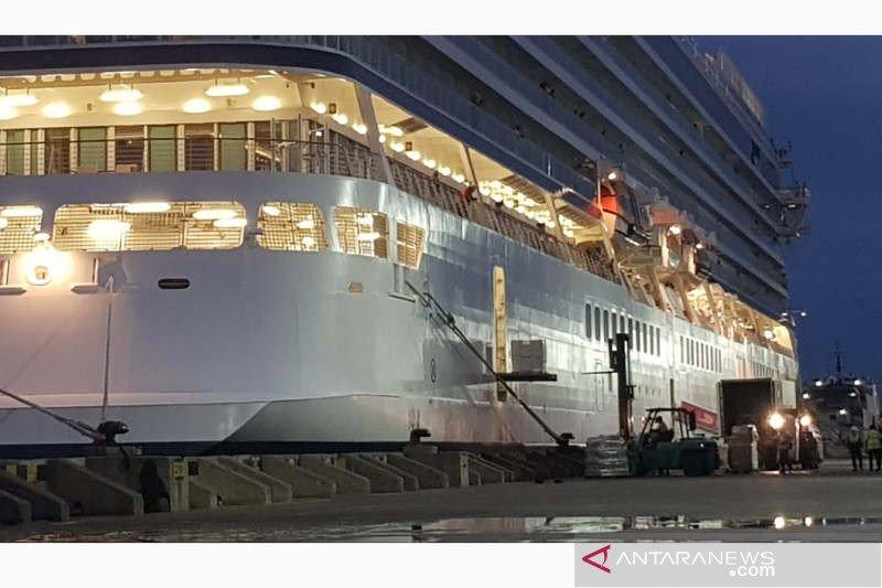 Kapal Pesiar Viking Sun langsung berlayar lagi usai isi logistik