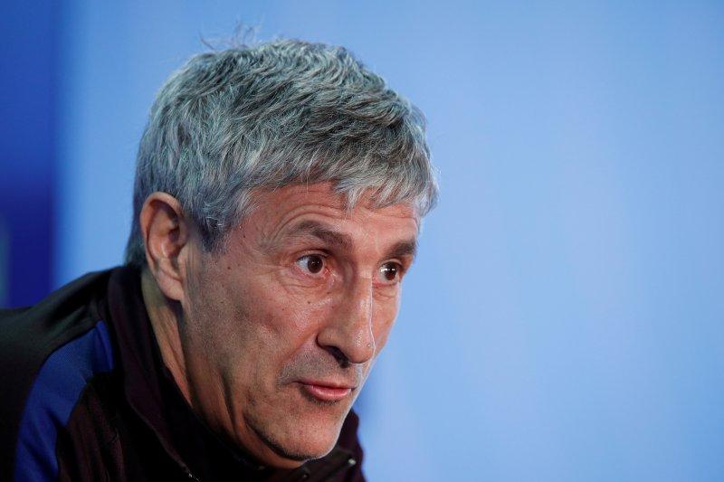 Setien berharap Barcelona bisa jamu Napoli di Camp Nou