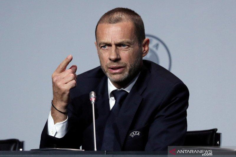 Presiden UEFA: Musim kompetisi ini bisa saja tak selesai