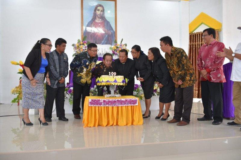 Peresmian Gedung Gereja Hosana, Gubernur Longki Kunjungi Tampo Lore