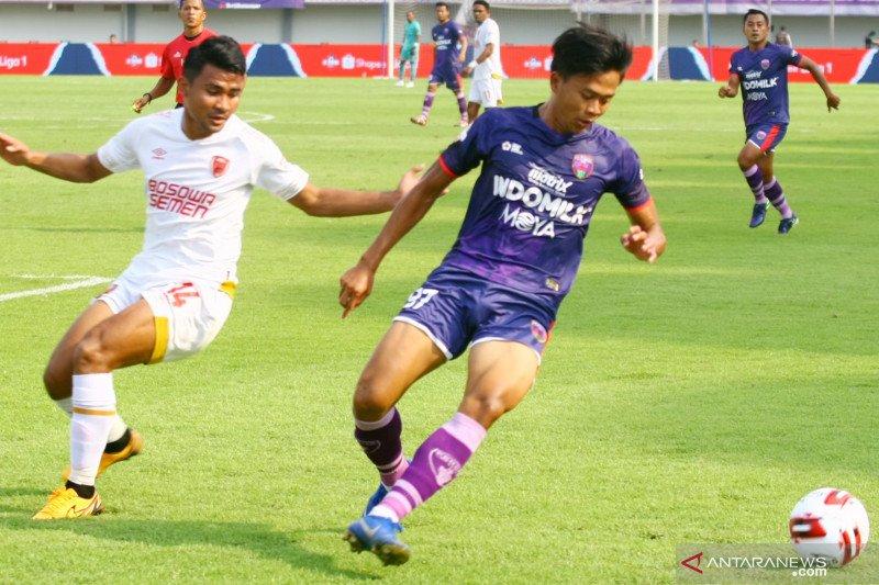 Persita Tanggerang minta PSSI beri kepastian soal kelanjutan Liga 1