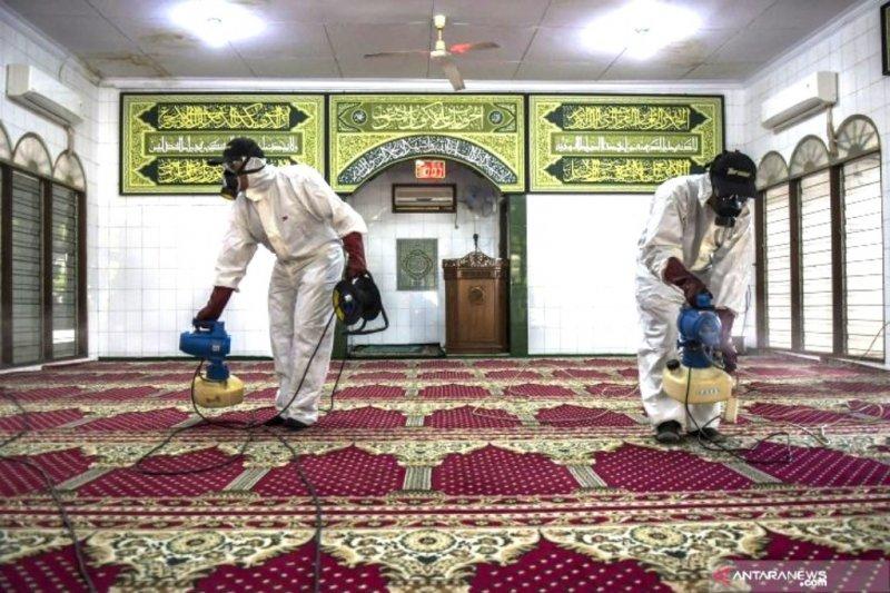 Langkah antisipasi Covid-19 di masjid