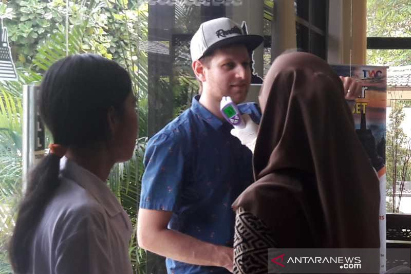 Dampak Corono, Wisman ke Candi Borobudur turun 30 persen