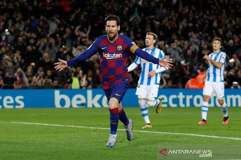 Barcelona gusur Madrid di puncak klasemen Liga Spanyol