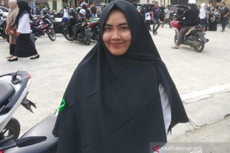 Latifa Raih Nilai Skd Tertinggi Formasi Cpns Kemenag Aceh Antara News
