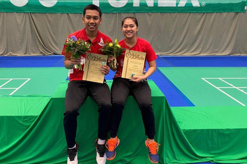 Ganda bulutangkis Indonesia sabet juara German Junior 2020