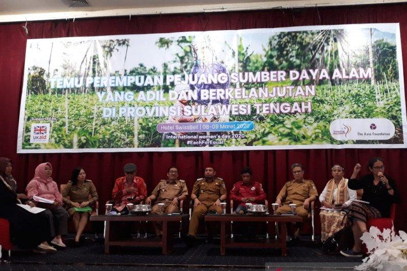 Pemprov Sulteng: Perempuan harus terlibat kelola lahan dan hutan