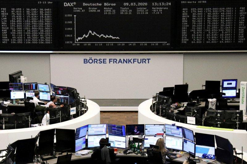 Saham Jerman ditutup lebih tinggi, indeks DAX 30 tembus 10.000 poin