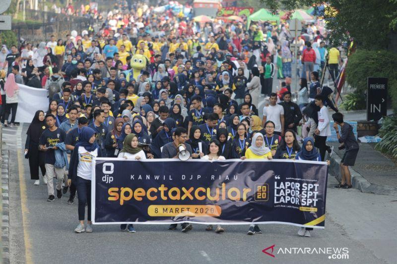 Kepatuhan penyampaian SPT Tahunan di Riau meningkat 34,01 persen tahun 2021