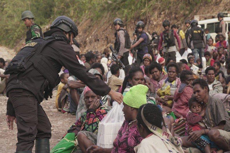 Takut serangan KKB, 1.572 orang dievakuasi dari Tembagapura Papua