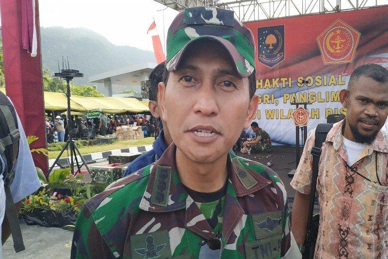 Flash - KKB serang pos Koramil Jila, seorang anggota TNI terluka
