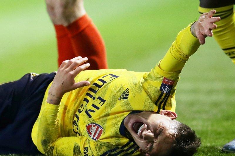 Cedera, Lucas Torreira absen bela Arsenal selama 10 pekan