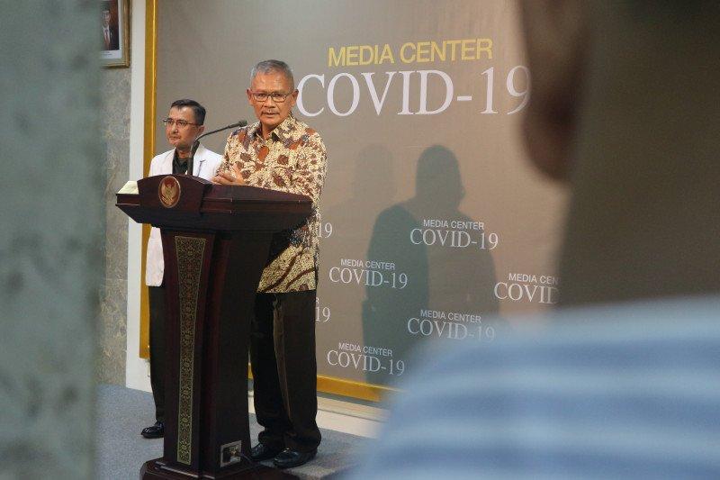 Dua orang positif COVID-19 di tanah air sembuh