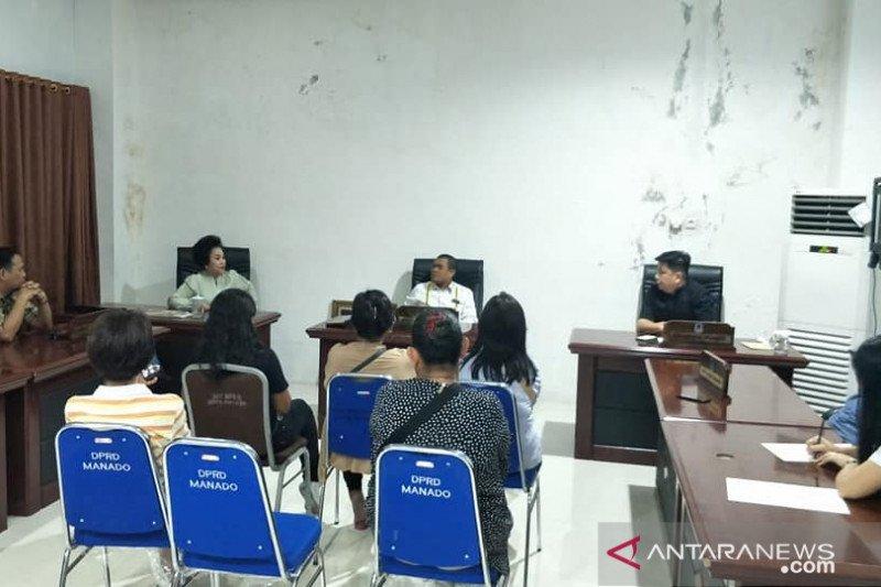Komisi II DPRD Manado terima keluhan pedagang pasar