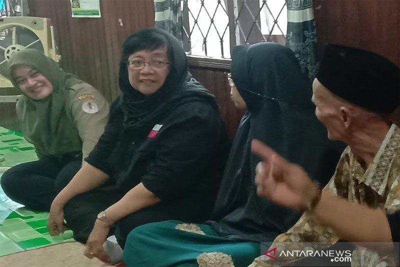 Menteri LHK temui keluarga korban kecelakaan Sebangau