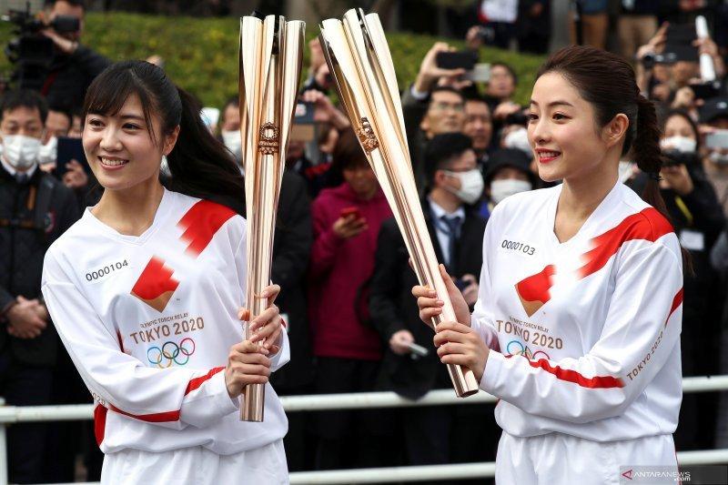 Jepang bantah Olimpiade 2020 ditunda 1-2 tahun karena corona