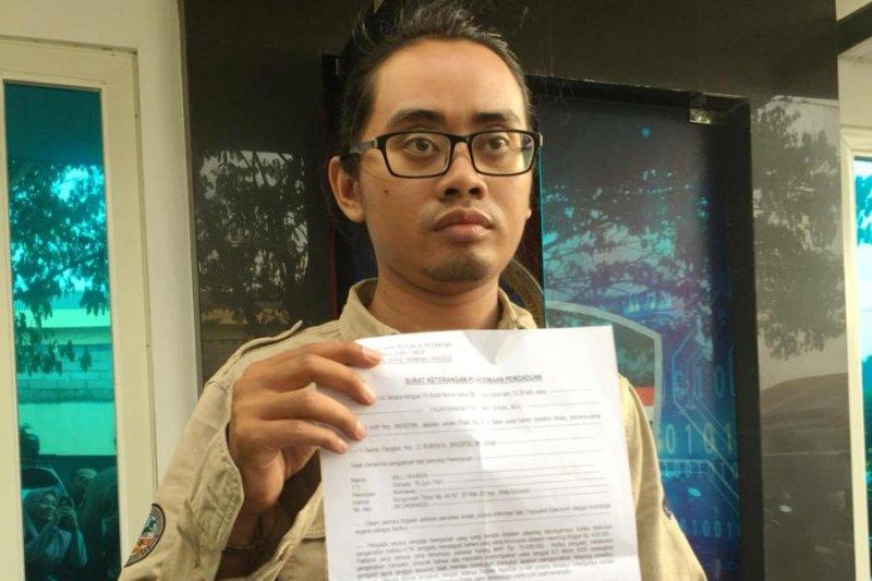 Wartawan kehilangan uang Rp19,6 juta di tabungan BNI