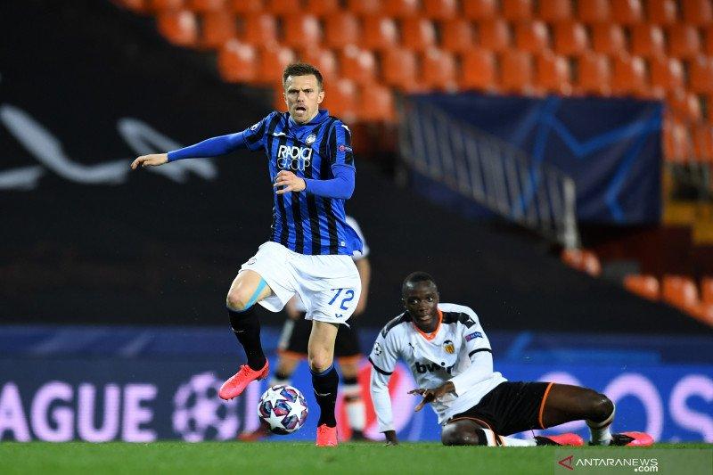 Empat gol Ilicic mewarnai langkah Atalanta ke delapan besar