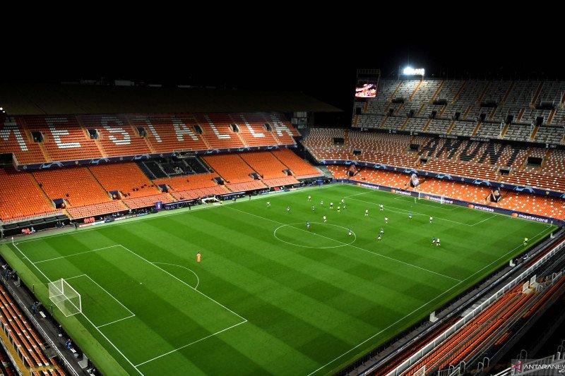 Valencia umumkan pemotongan gaji para pemain di tengah pandemi corona