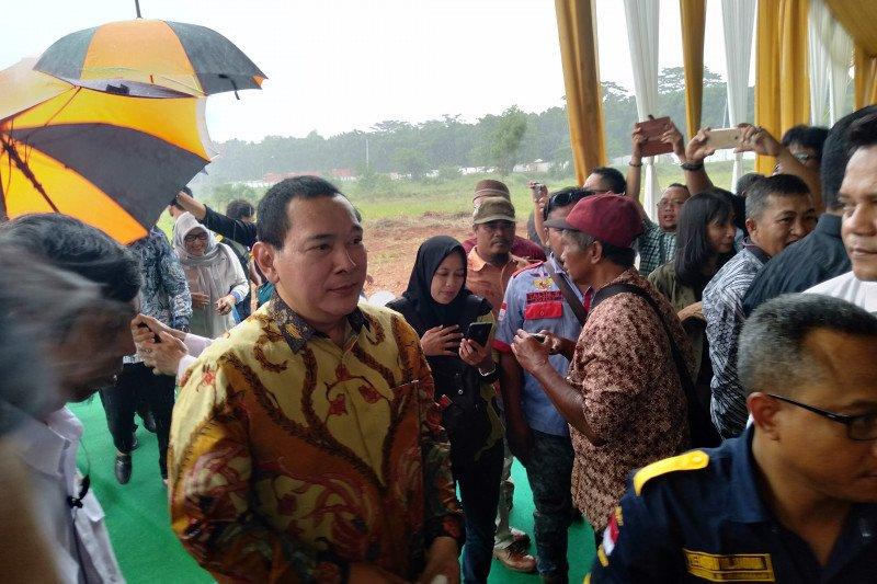 Tommy Soeharto sumbangkan lahan tiga hektare untuk dibangun terminal di Cikampek