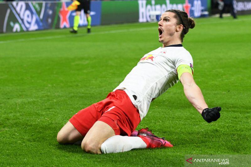 Leipzig ke perempat final Liga Champions usai lumat Tottenham 3-0