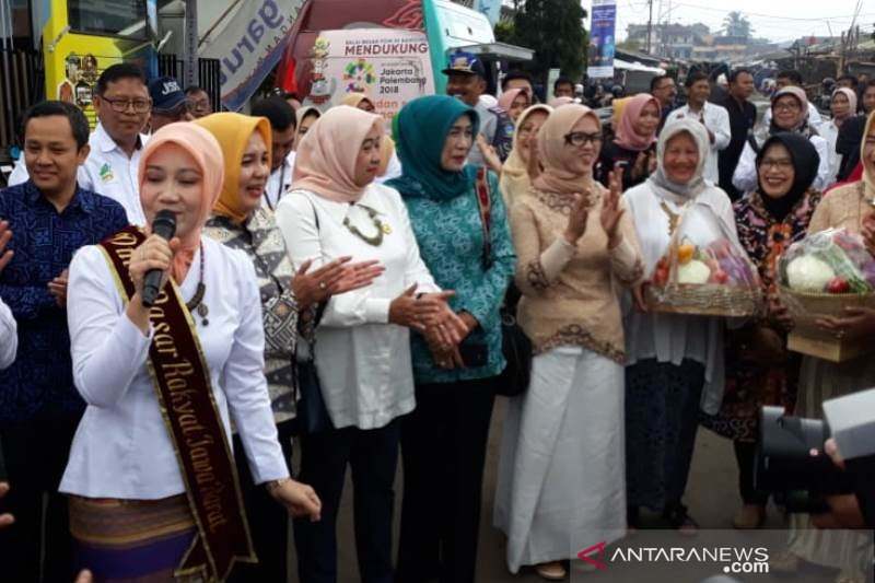 Duta Pasar Rakyat Jabar harap kebersihan dan ketertiban pasar diperhatikan