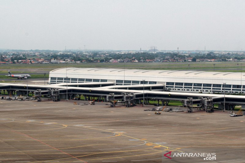 Pengaruh COVID, 53 penerbangan batal terbang dari Bandara Internasional Yogyakarta
