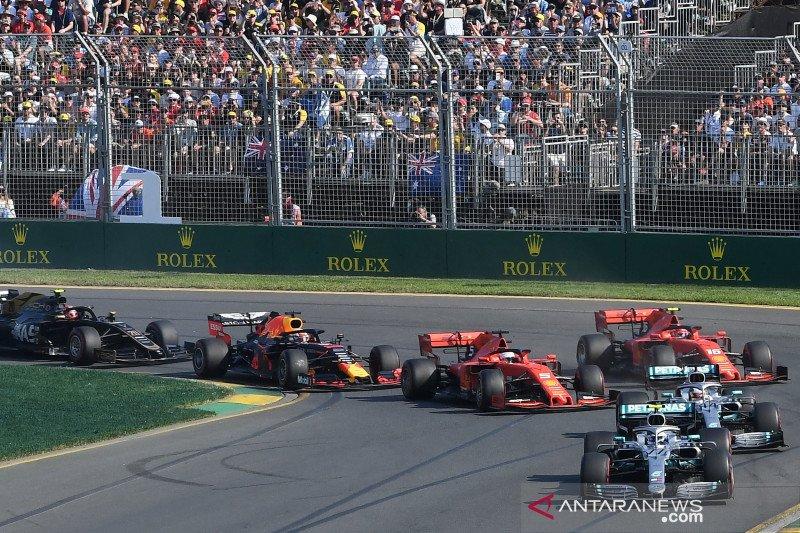 Statistik Grand Prix Australia 2020