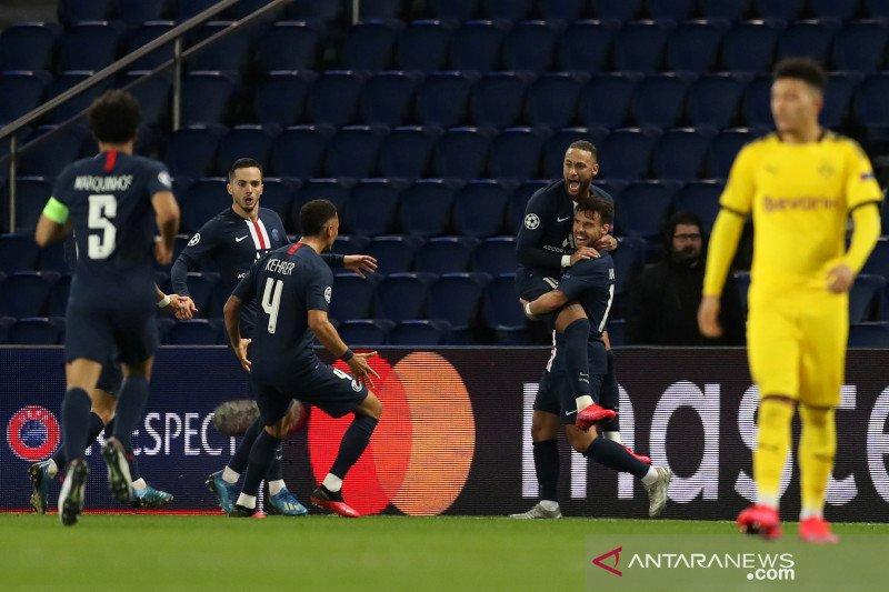 PSG menang agregat atas Dortmund maju ke perempat final Liga Champions
