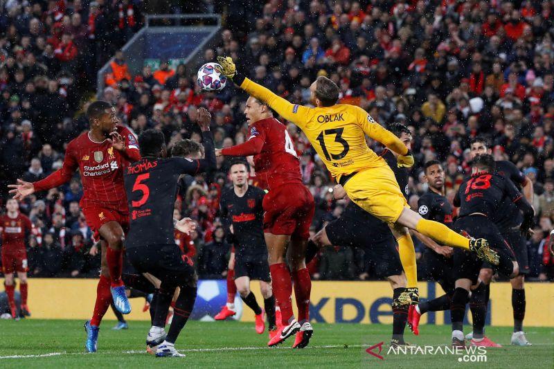 Pemerintah Inggris bela perizinan pertandingan Liverpool vs Atletico Madrid