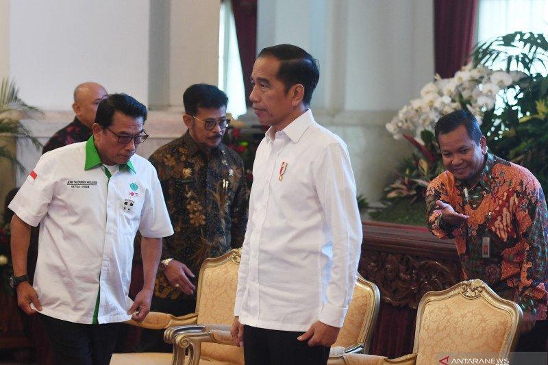 Presiden Jokowi minta petani kembali produksi rempah-rempah