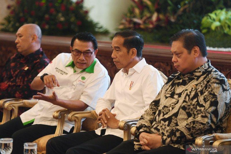 Jokowi bercerita hadiahkan durian untuk Iriana