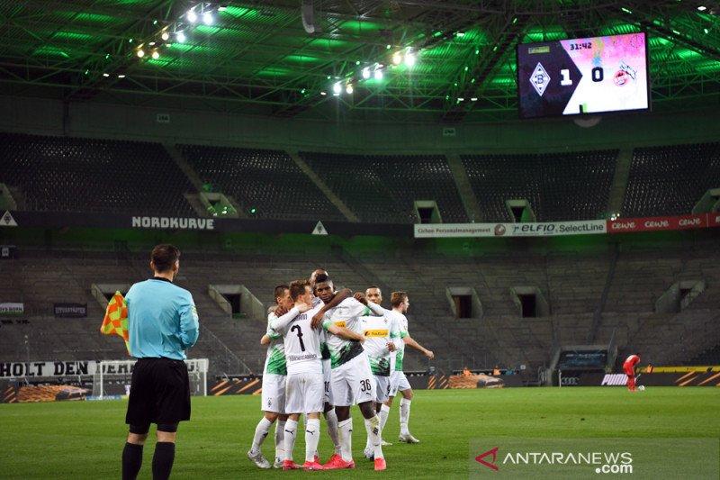 Gladbacah taklukkan Cologne 2-2 demi amankan kembali peringkat keempat
