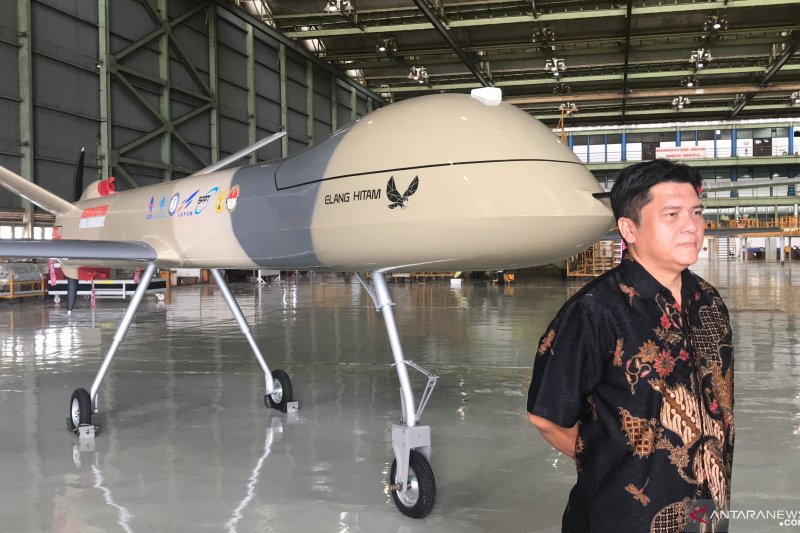 Pesawat nirawak Elang Hitam mulai terbang Januari 2021