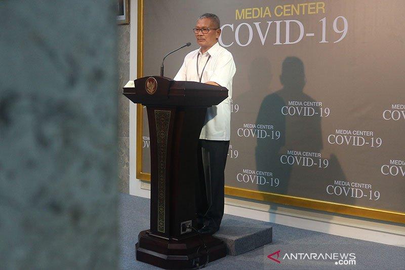Jumlah kasus positif COVID-19 menjadi 134 orang