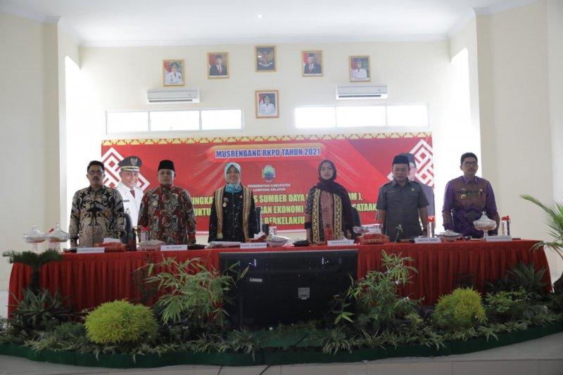 Wagub Nunik hadiri RKPD 2020 Kabupaten Lampung Selatan