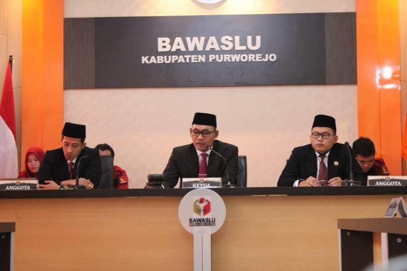 Bawaslu Purworejo kabulkan sebagian permohonan penyelesaian sengketa