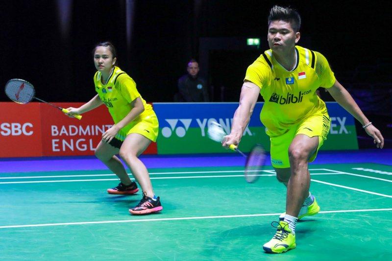 Empat wakil Indonesia lolos ke perempat final All England 2020