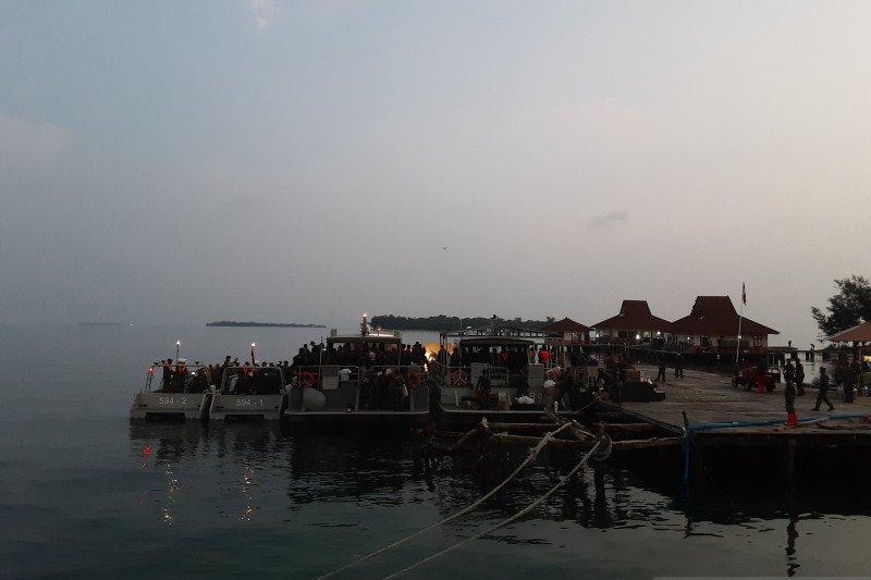188 ABK World Dream selesai jalani observasi  Pulau Sebaru