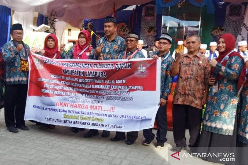 Ketua LPTQ Jayapura ajak umat tolak paham radikalisme