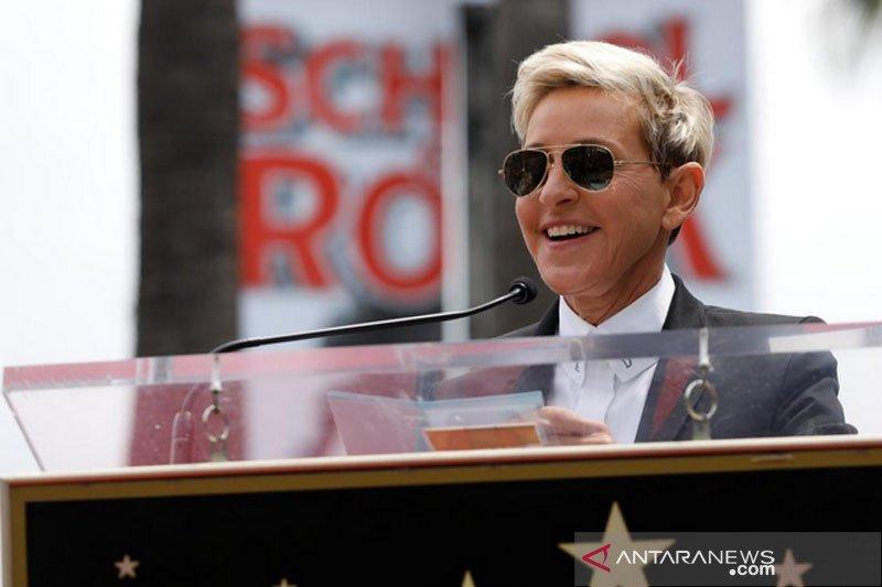 Rumor acaranya akan dibatalkan, Ellen DeGeneres buka suara