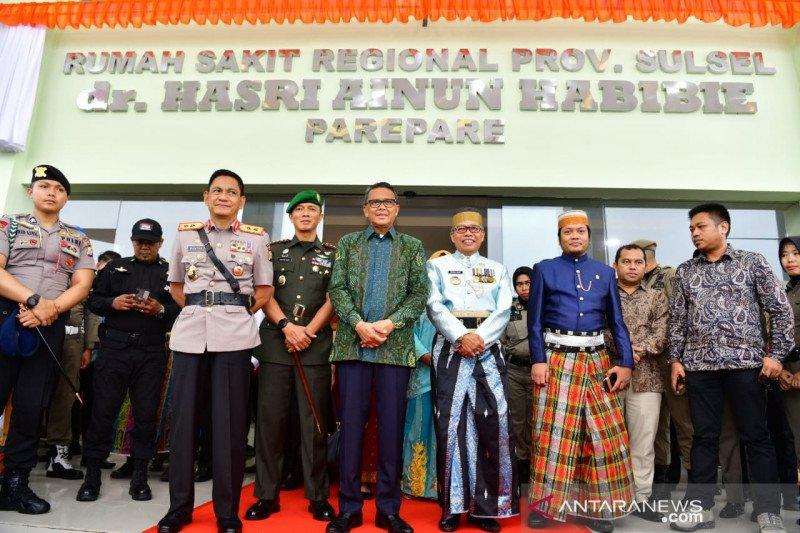 Peresmian RS Hasri Ainun Habibie kado spesial di HUT ke-60 Kota Parepare