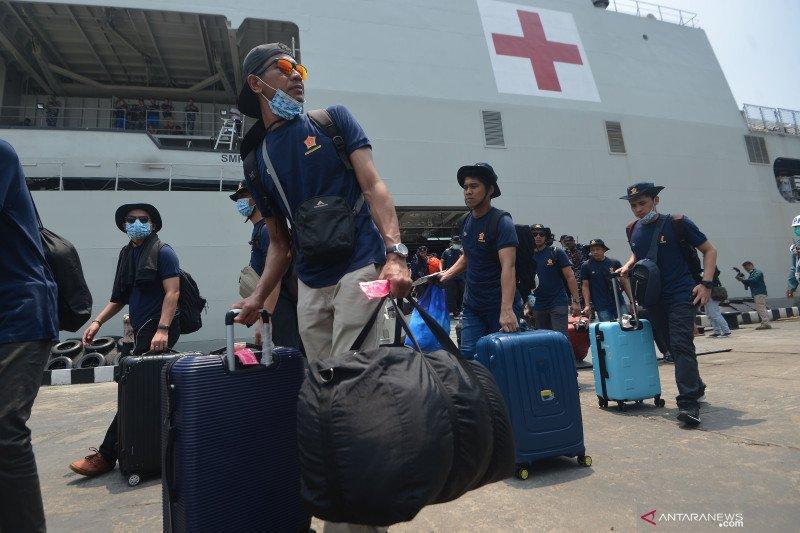 359 ABK kapal pesiar MV Explorer Dream tiba di Tanjung Priok