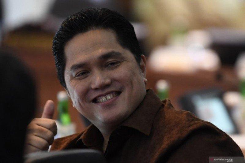 Menteri BUMN Thohir yakin Indonesia bisa bersatu lawan corona