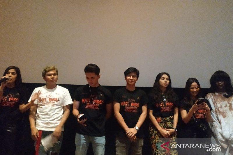 Penyanyi Minang Ratu Sikumbang main film horor Roh Mati Paksa Cinta Berujung Maut
