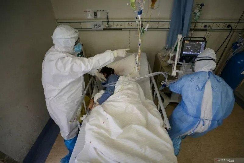 Tenaga medis di  Sumsel jalani pemeriksaan pasca-merawat pasien positif corona