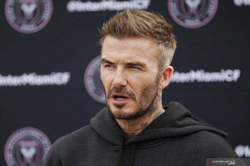 Lawan corona, David Beckham adakan undian untuk galang dana