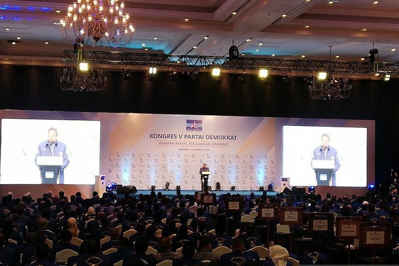 Junjung empati, SBY: Kongres Partai Demokrat dipersingkat