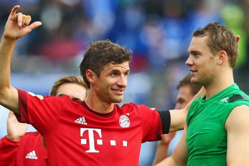 Thomas Muller memperpanjang kontrak di Bayern Muenchen hingga 2023